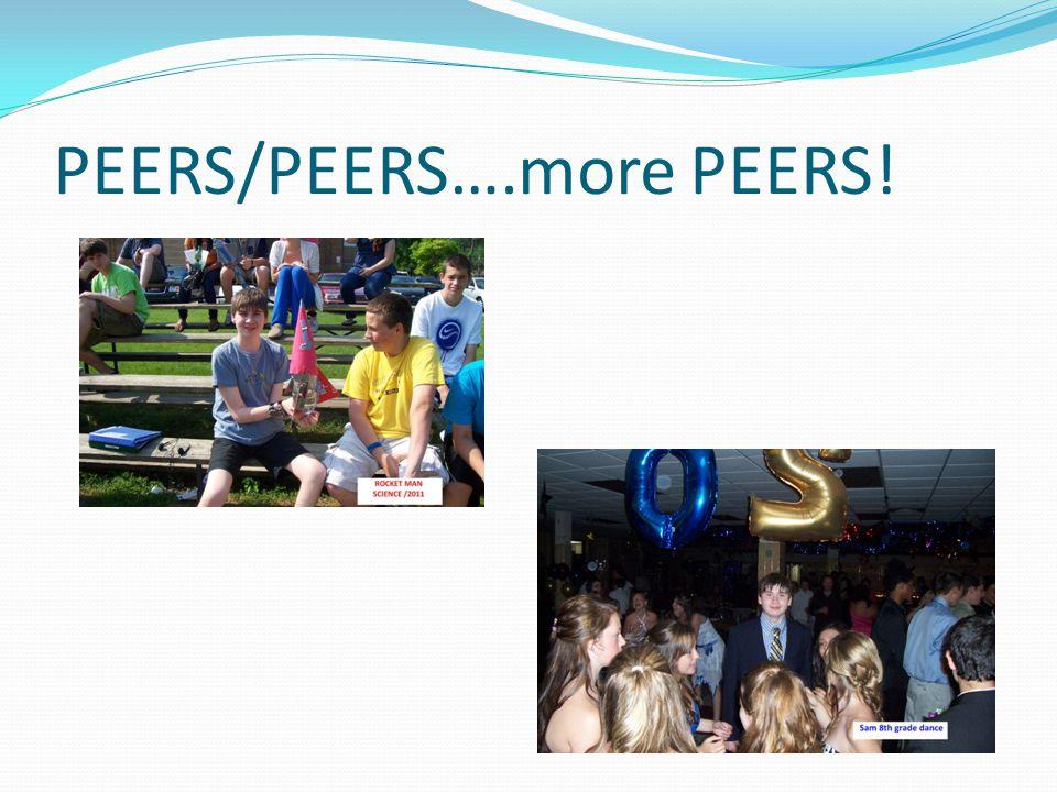 PEERS/PEERS….more PEERS!