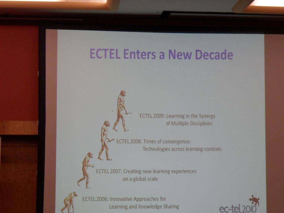 EC-TEL 2010, September 28 – October 1, 2010, Barcelona, Spain2