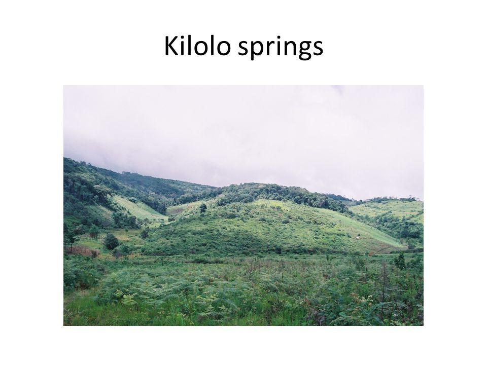 Kilolo springs