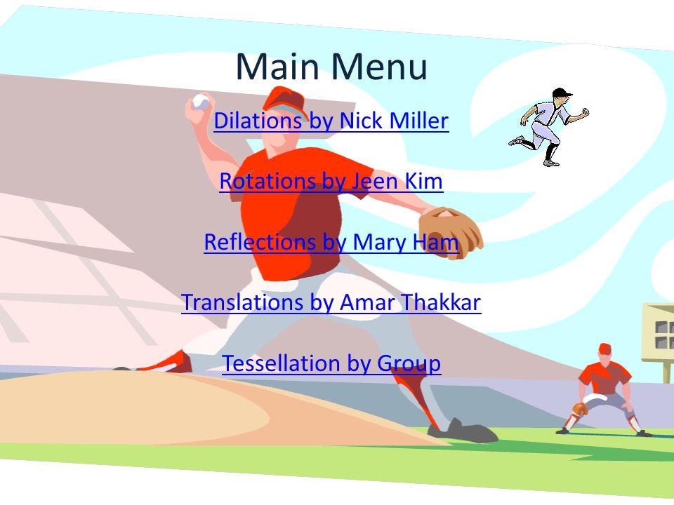 Rotation Activity Table of ContentsMain Menu
