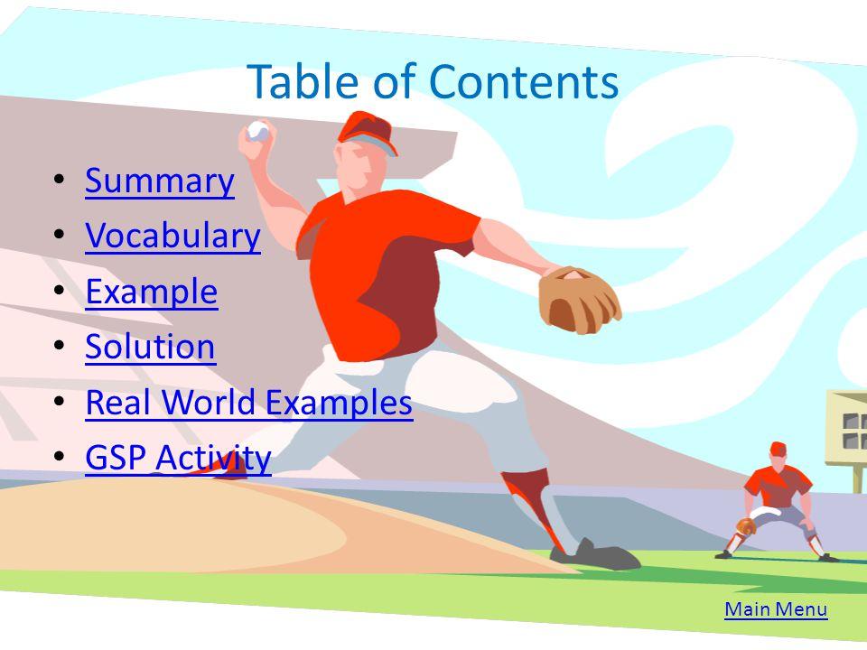 Translations By Amar Thakkar Table of Contents Main Menu