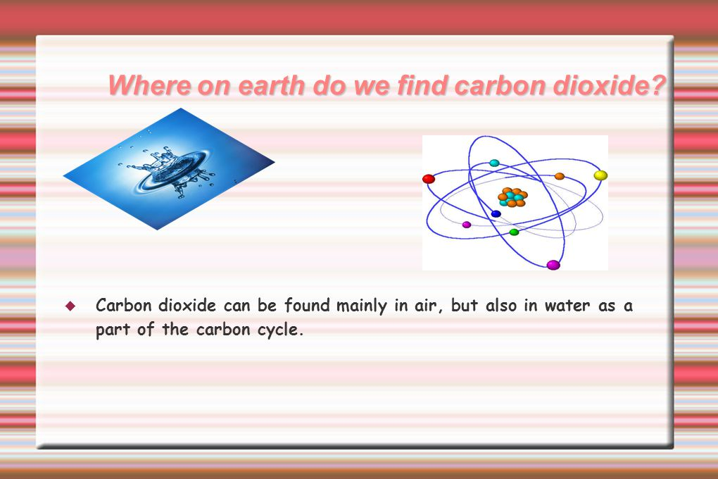 Applications of carbon dioxide by humans  Humans use carbon dioxide in many different ways.