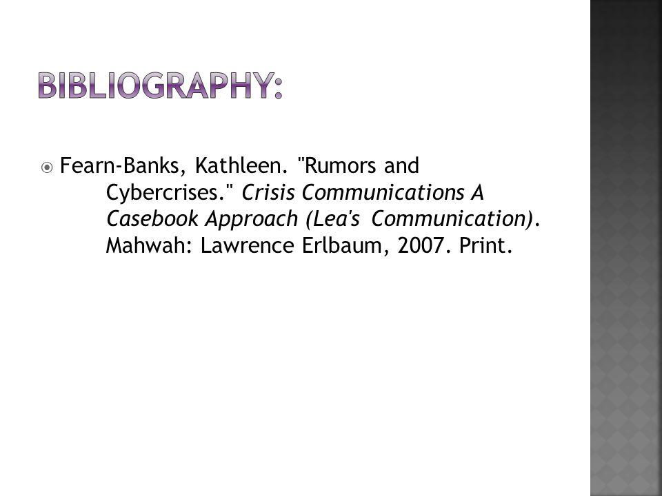  Fearn-Banks, Kathleen.
