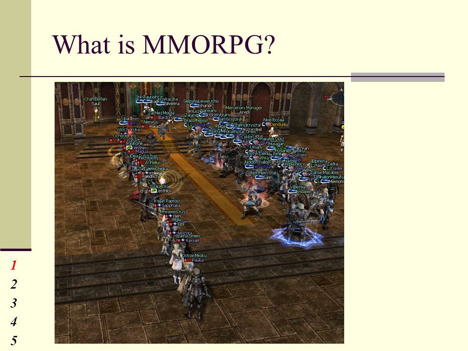 What is MMORPG 1234512345