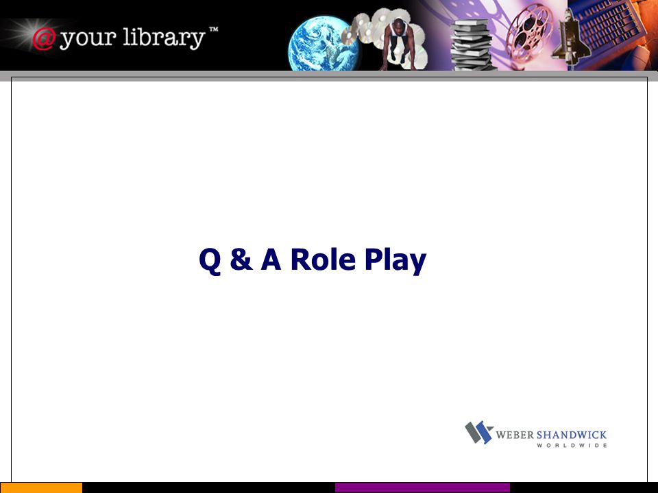 Q & A Role Play