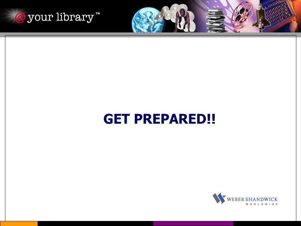GET PREPARED!!