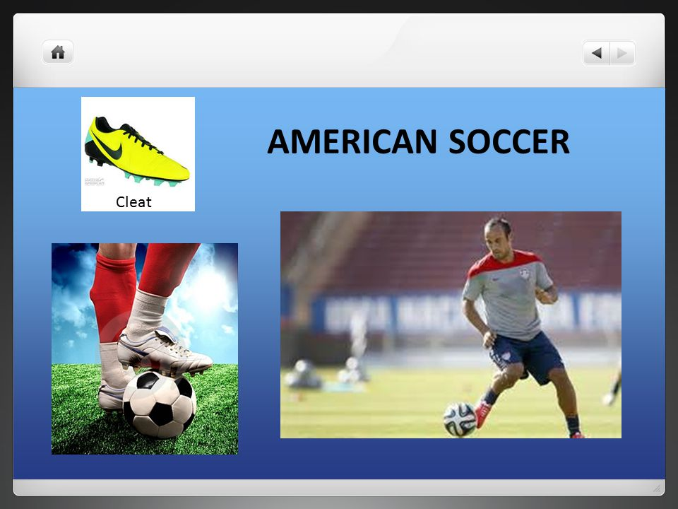AMERICAN SOCCER Cleat