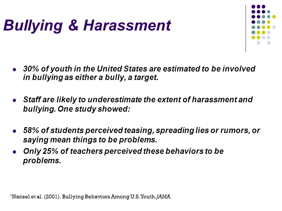 Literature Review of Existing Bully Prevention Programs  Outcomes less than ideal  Most show student knowledge of what to do improves, not that actual behavior changes)  Efficiency a major issue  Most do not target behavior of bystanders