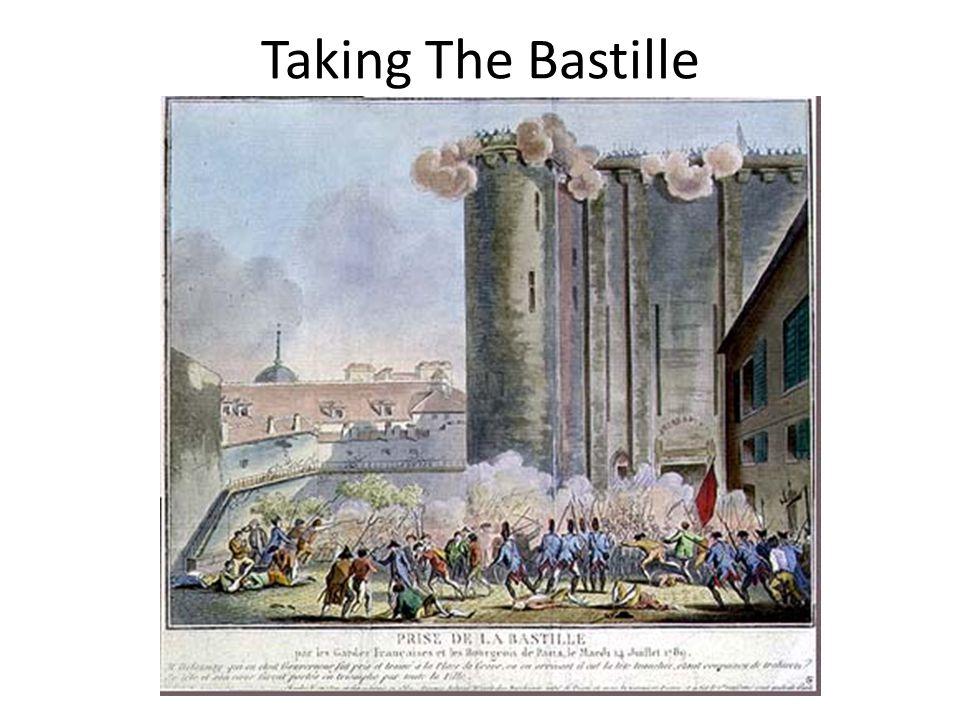 Taking The Bastille