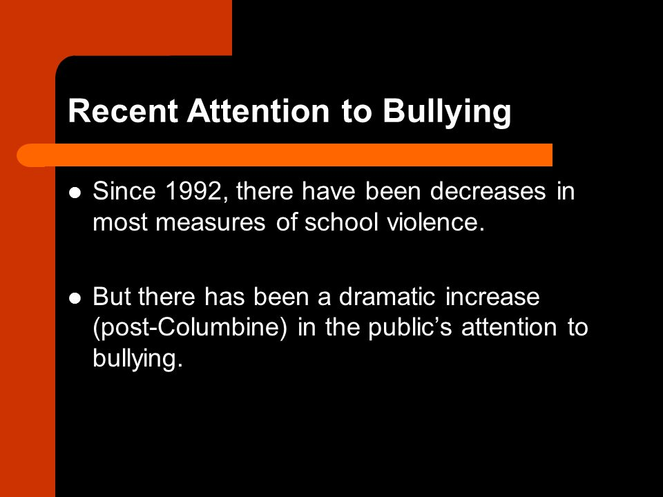 Welcome to the U.S.website for the Olweus Bullying Prevention Program.
