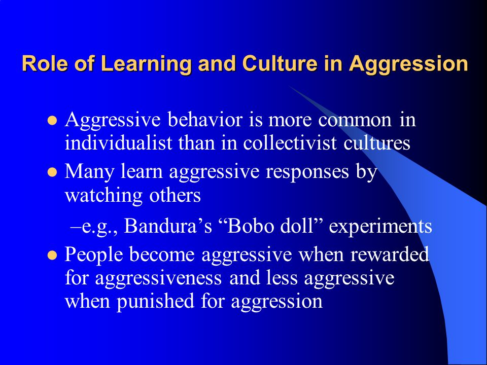 Is Aggression Innate.