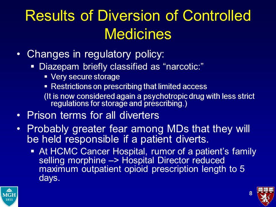 9 Ways Forward Toward Balance Avoid unnecessarily risky practices –Eg.: Stocking morphine at HIV OPCs with no pharmacist.