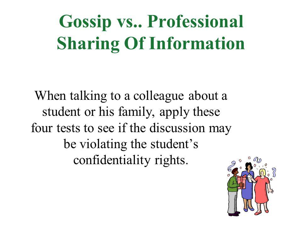 Gossip vs..