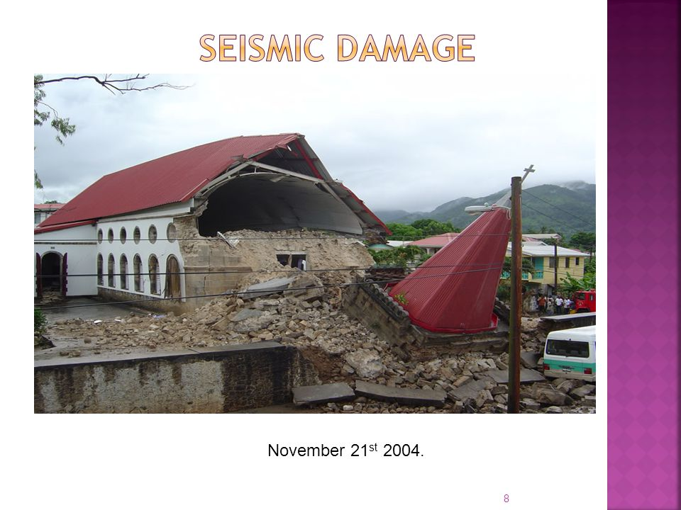  Meteorological/hydrological hazards Office of Disaster Management Dominica Met.