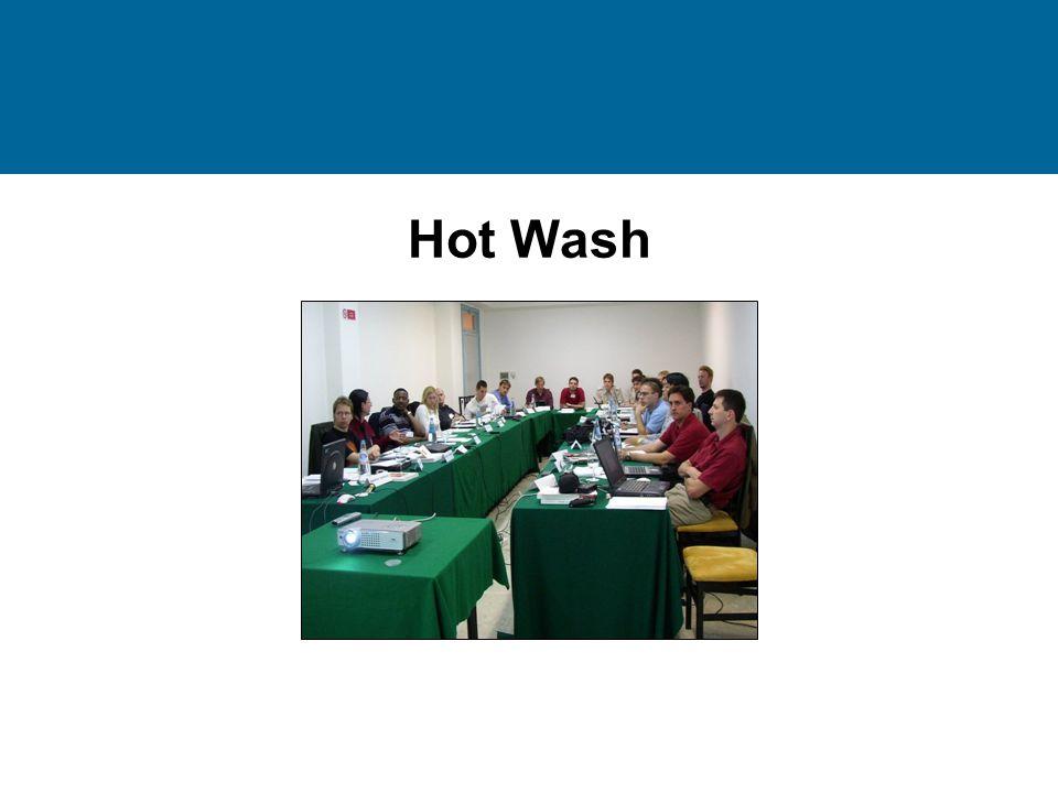 Hot Wash
