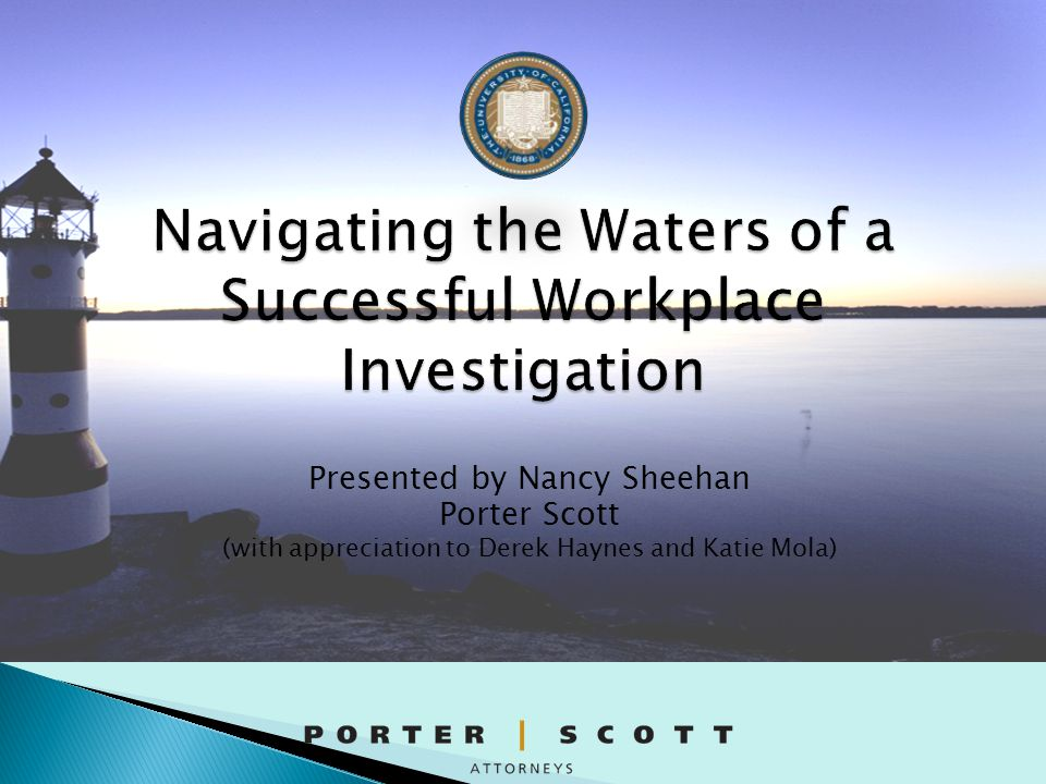  If a problem does exist, it will not be properly remediated  Sends a message to employees that policies don't really mean what they say  May cause employee to be reluctant to report future incidents