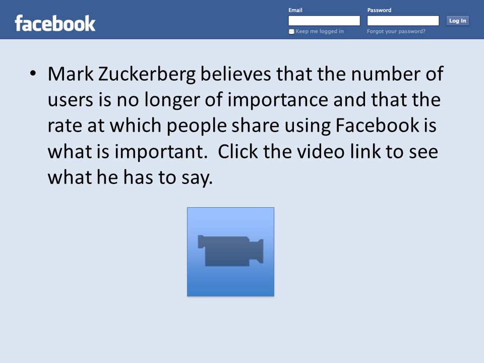In the video, Mark Zuckerberg discusses an example that can be used to model exponential growth, where paper is folded over itself 50 times.