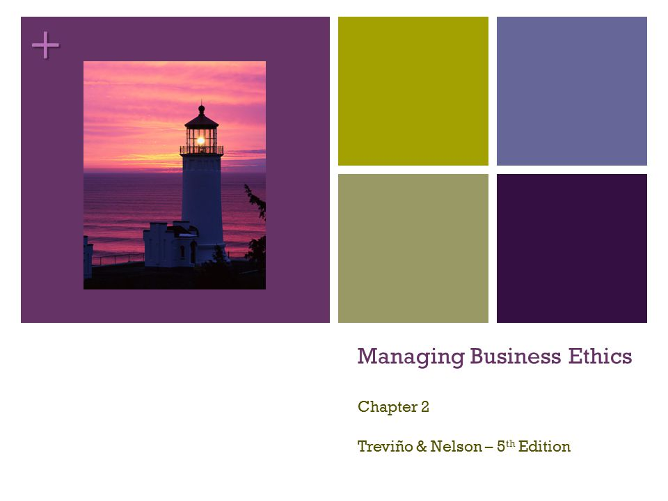 + Managing Business Ethics Chapter 2 Treviño & Nelson – 5 th Edition