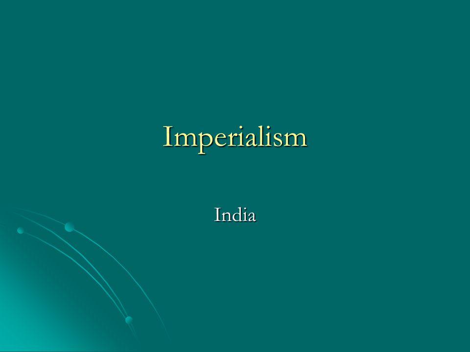 Imperialism India