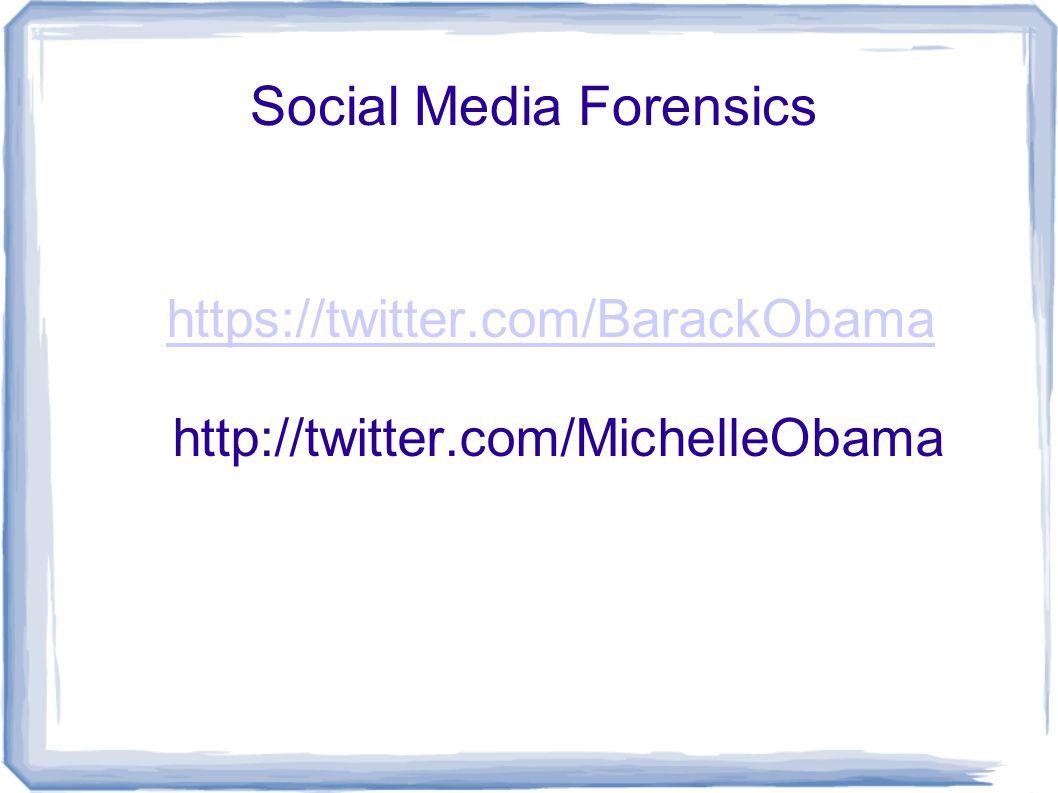 https://twitter.com/BarackObama https://twitter.com/BarackObama http://twitter.com/MichelleObama