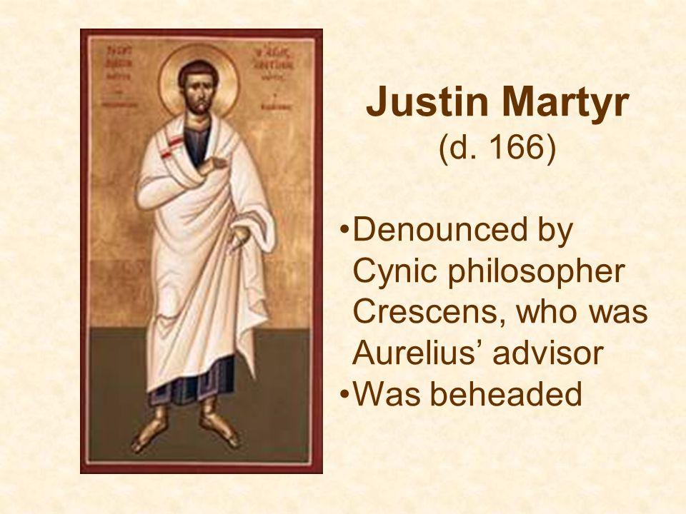 Justin Martyr (d.