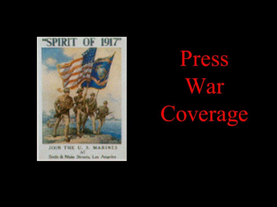 Press War Coverage