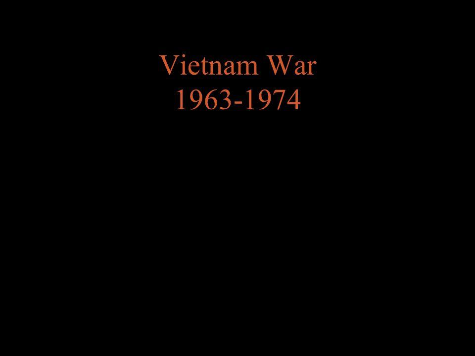 Vietnam War 1963-1974