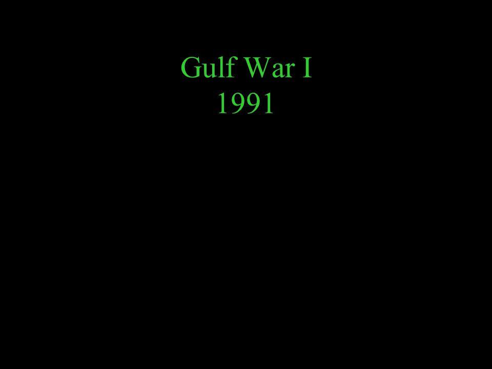 Gulf War I 1991