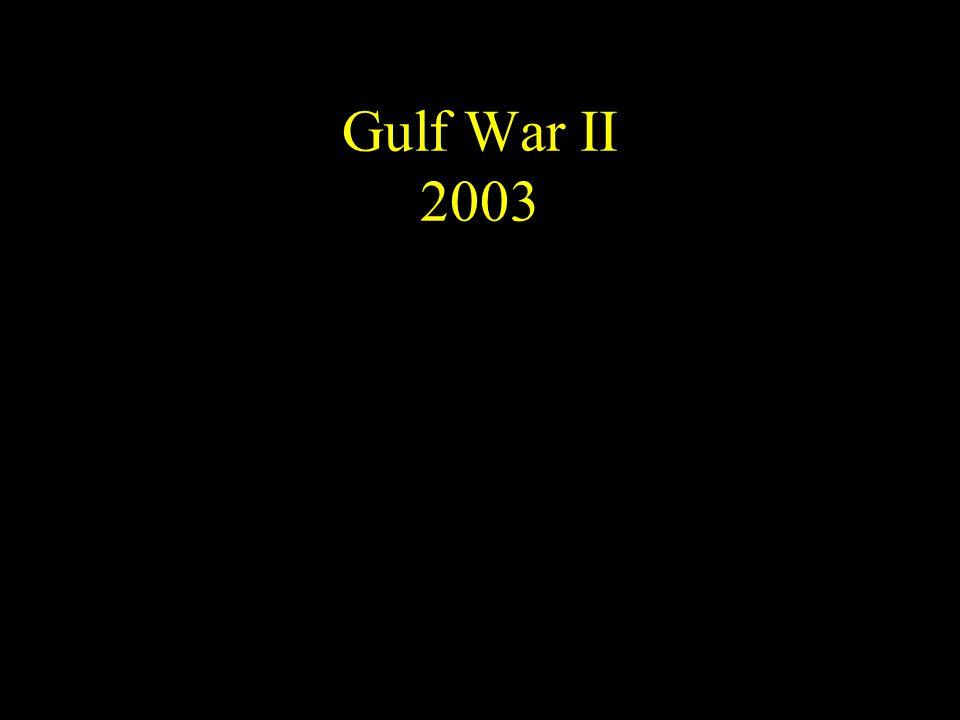 Gulf War II 2003