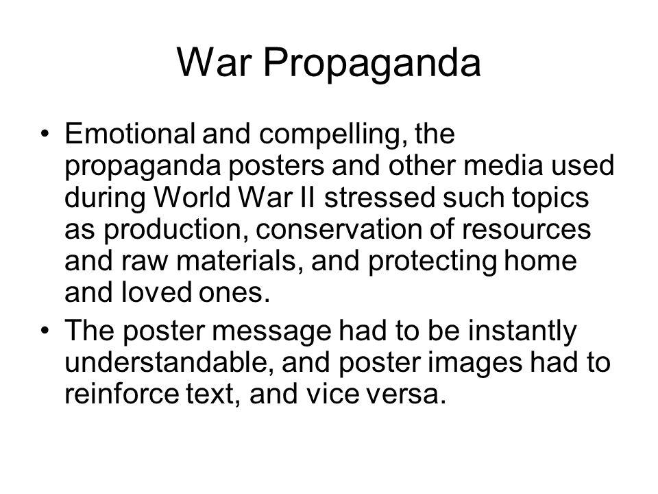 What type of Propaganda here?