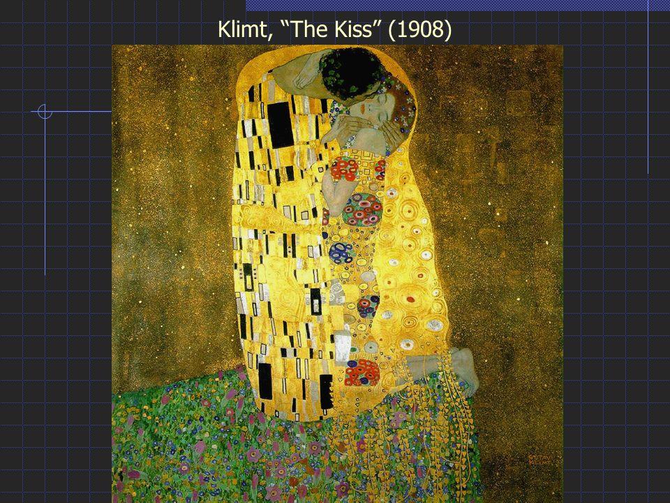 Klimt, The Kiss (1908)