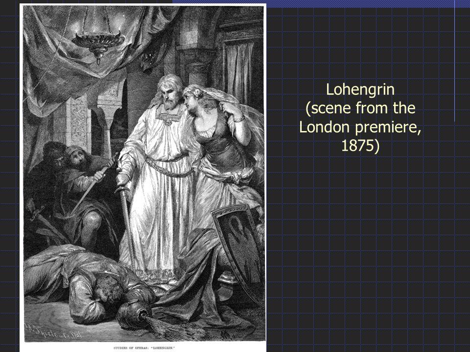 Lohengrin (scene from the London premiere, 1875)