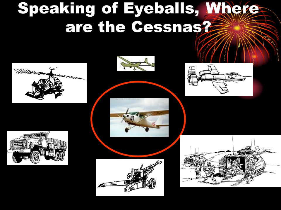 Speaking of Eyeballs, Where are the Cessnas