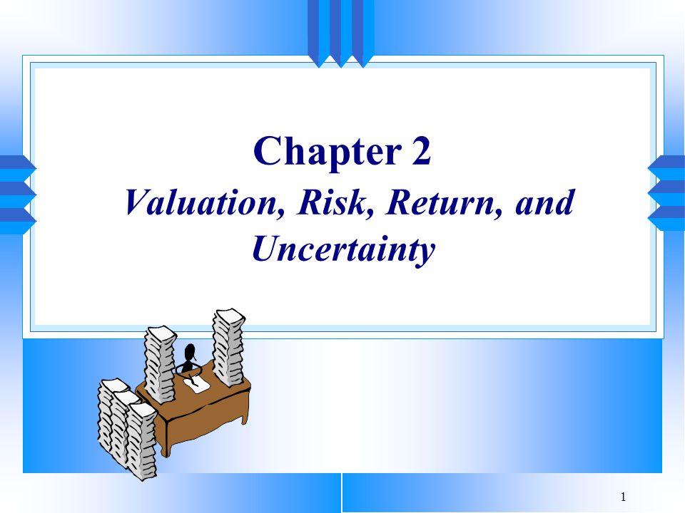 2 Introduction u Introduction u Safe Dollars and Risky Dollars u Relationship Between Risk and Return u The Concept of Return u Some Statistical Facts of Life