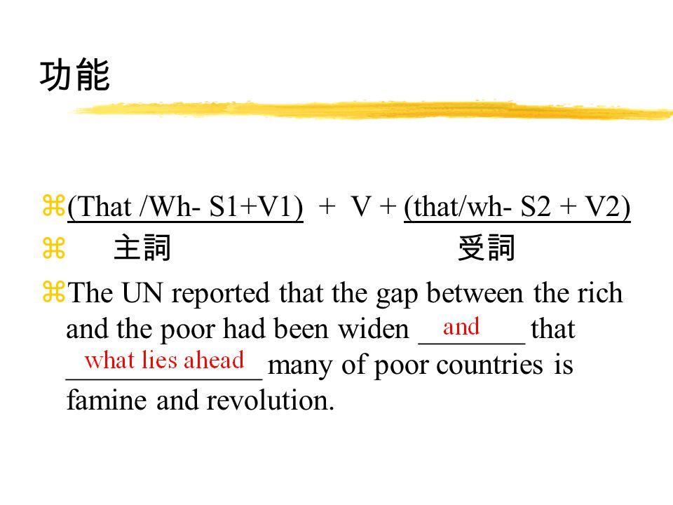 文法修辭 名詞子句 Dr. Chen