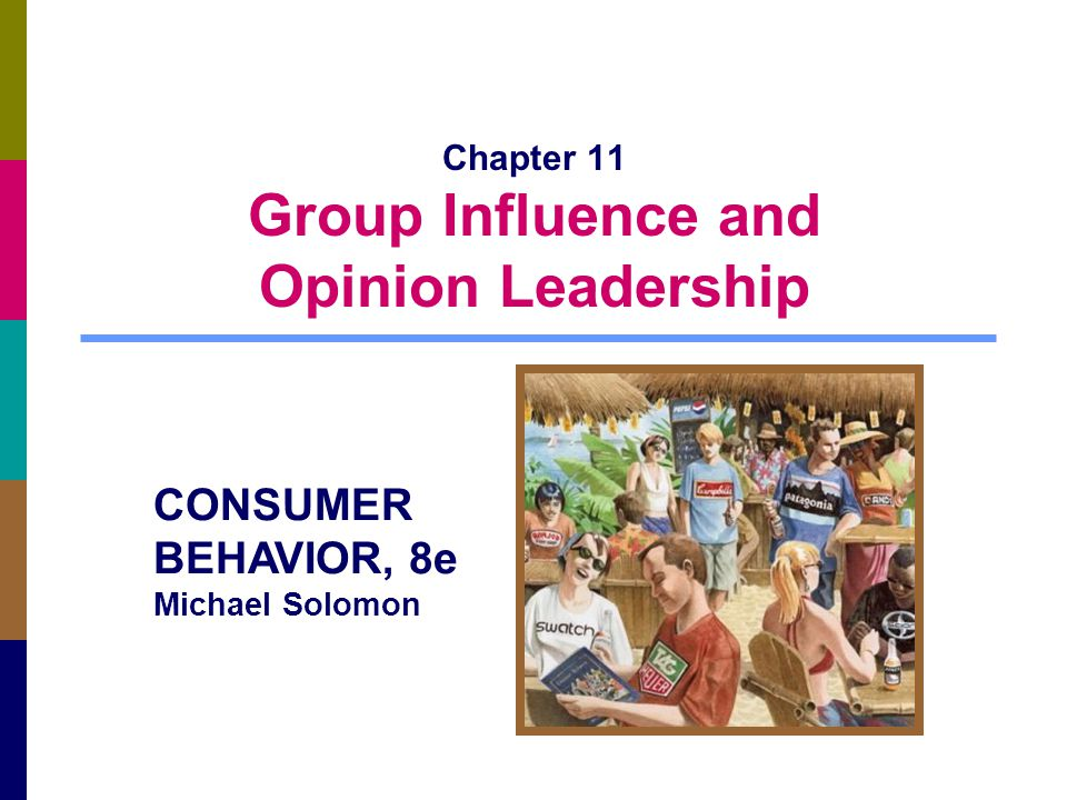 Prentice-Hall, cr 2009 11-12 Consumers Do It in Groups Deindividuation: individual identities become submerged within a group Example: binge drinking at college parties Social loafing: people don't devote as much to a task when their contribution is part of a larger group Example: we tend to tip less when eating in groups Risky shift: group members show a greater willingness to consider riskier alternatives following group discussion than if members mad their own decisions
