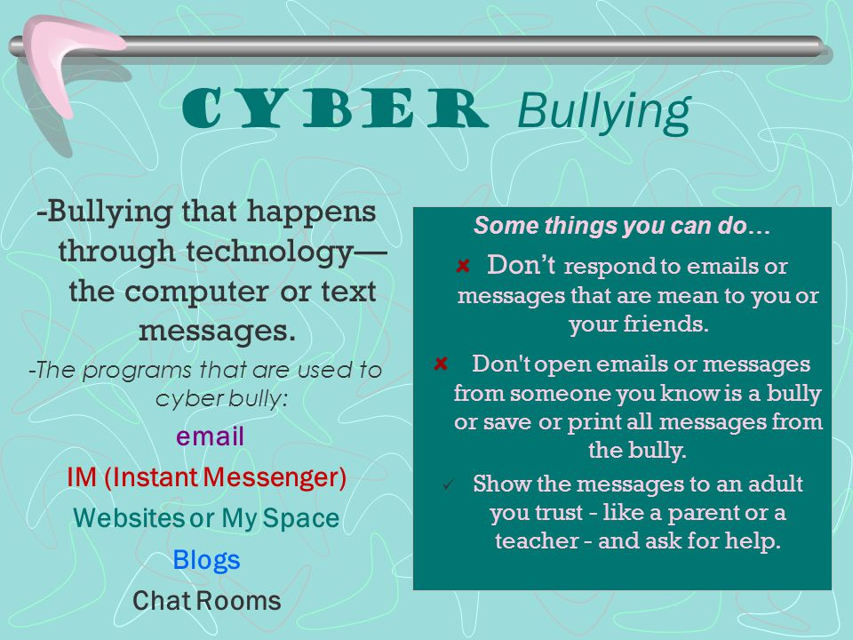 Witness Strategies Relational Bullying… If someone is trying to exclude someone or hurt their reputation, YOU can…  Include that person in your group  Stop a rumor from spreading  DON'T let yourself get in the middle…don't be the messenger!