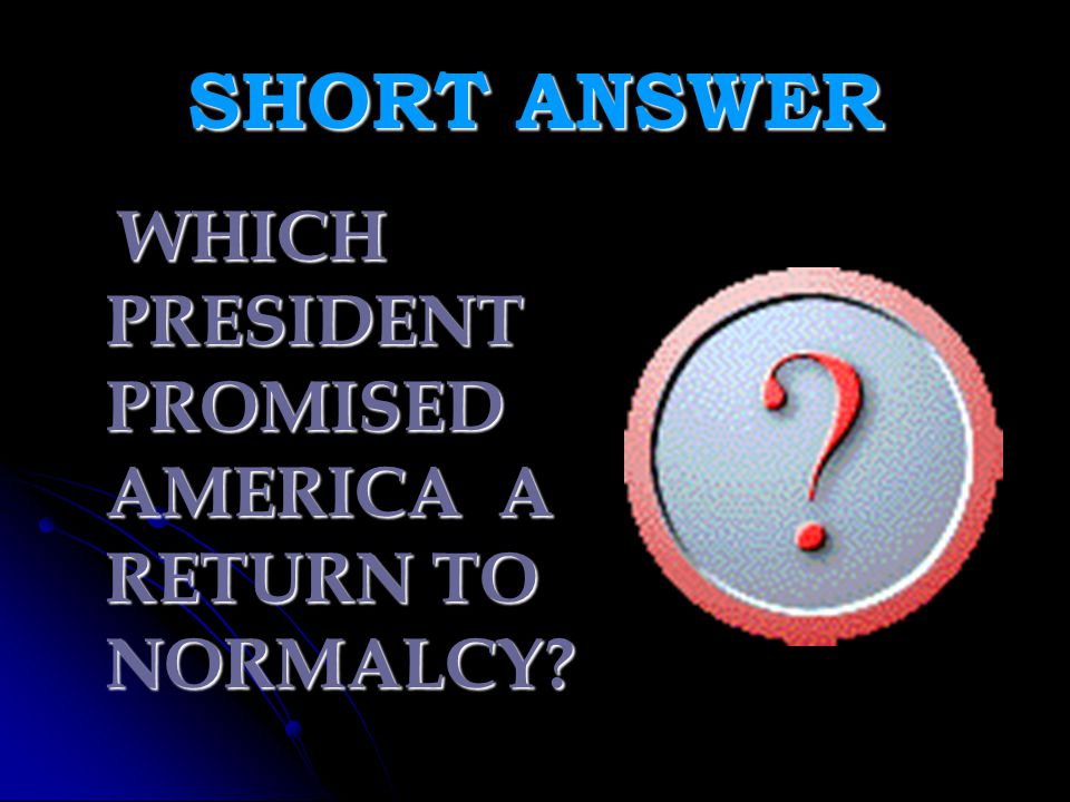 ANSWER!!.3. U.S. CITIZENS BLAMED FOREIGNERS FOR AMERICA'S PROBLEMS 4.