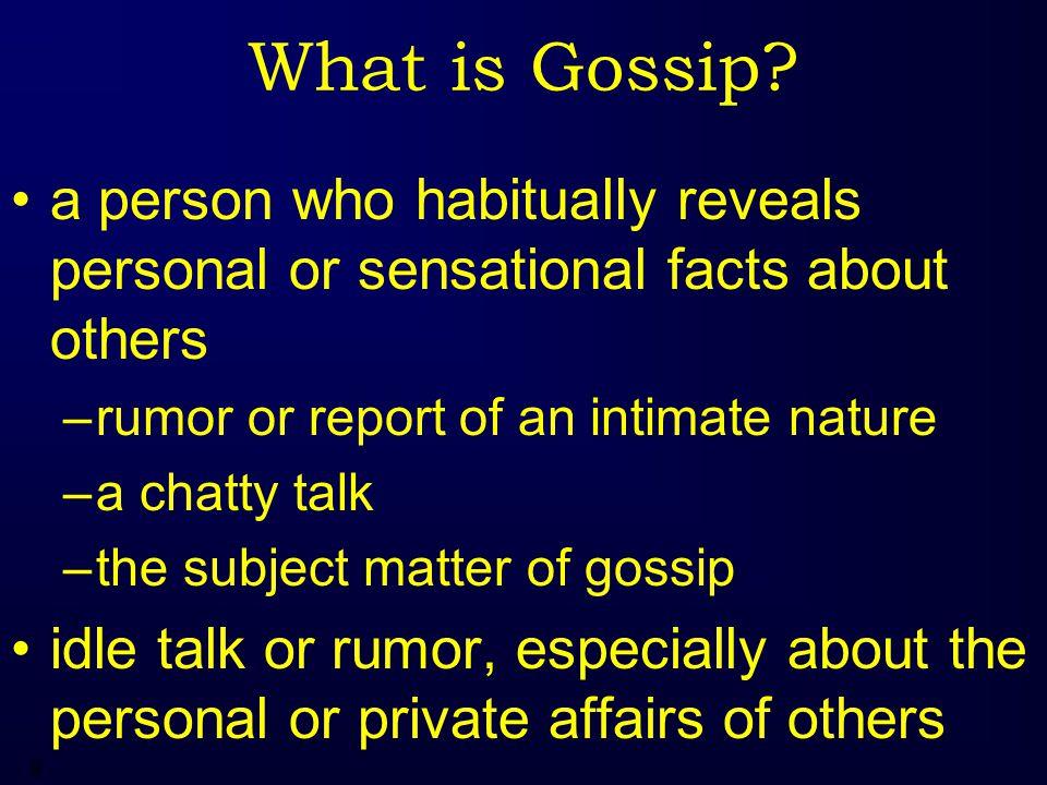 9 What is Gossip.