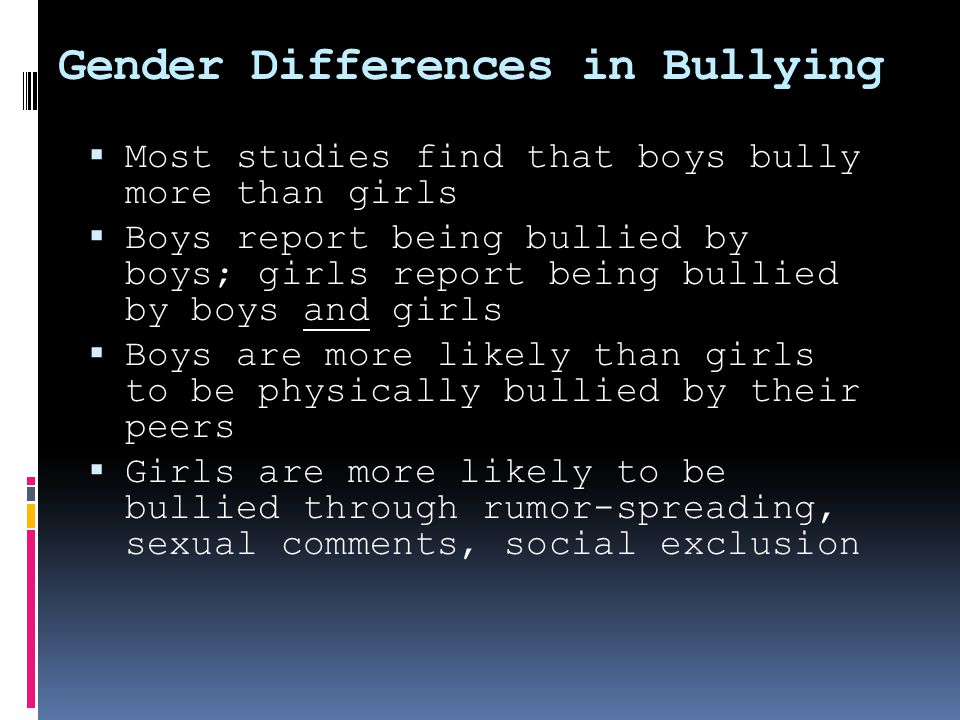  How do I know if my student is being bullied or is bullying others?