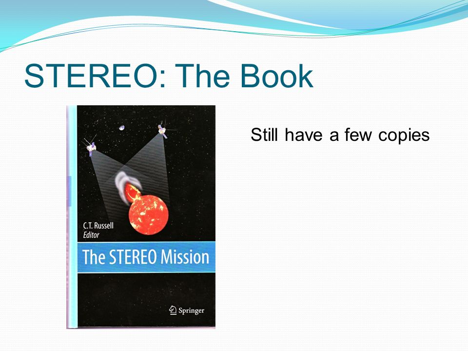 STEREO: The Book Still have a few copies