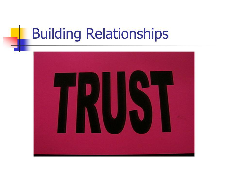 Building Relationships