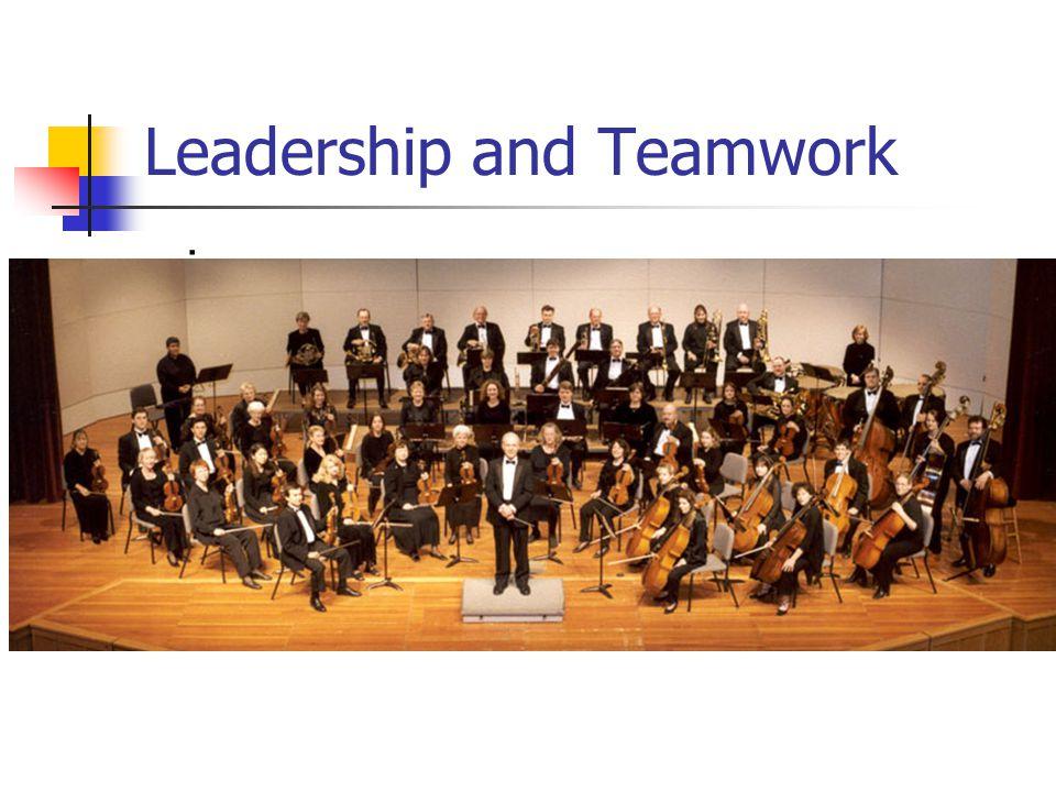 Leadership and Teamwork i
