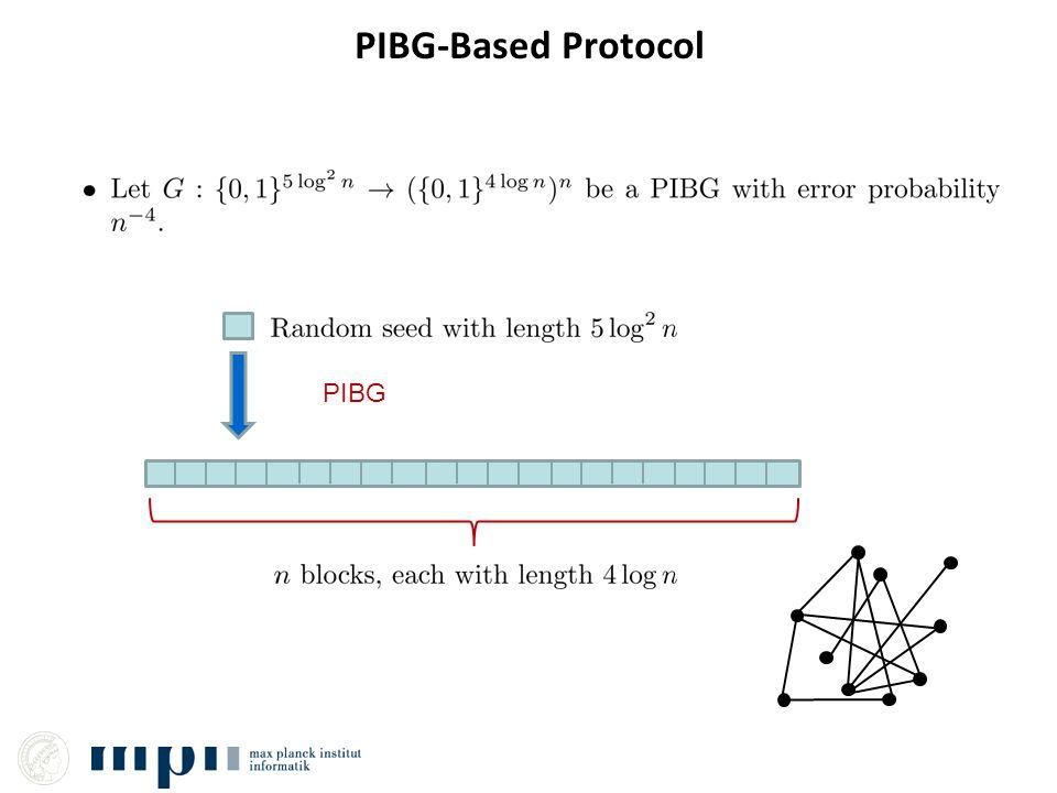 PIBG-Based Protocol PIBG