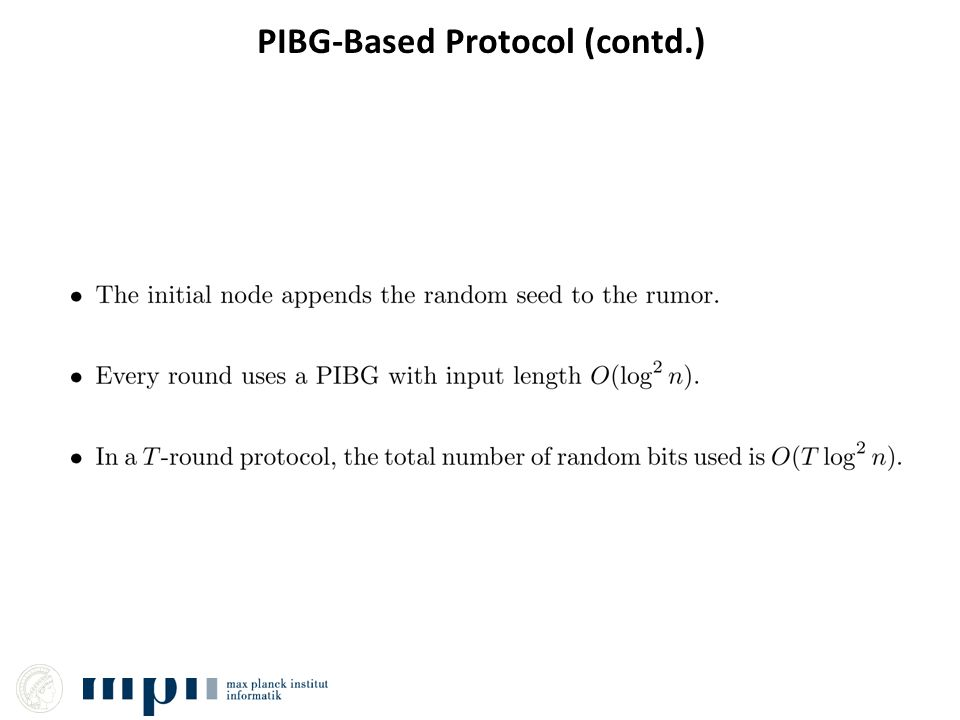 PIBG-Based Protocol (contd.)