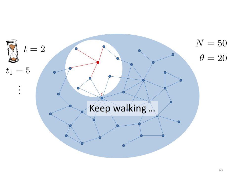 i Keep walking … 63