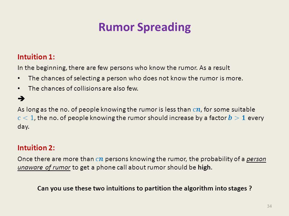 Rumor Spreading 34