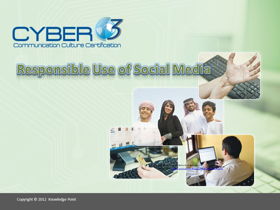 Copyright © 2012 Knowledge Point Identifying Misuse of Technology Using Social Networking Sites for the Wrong Reasons.