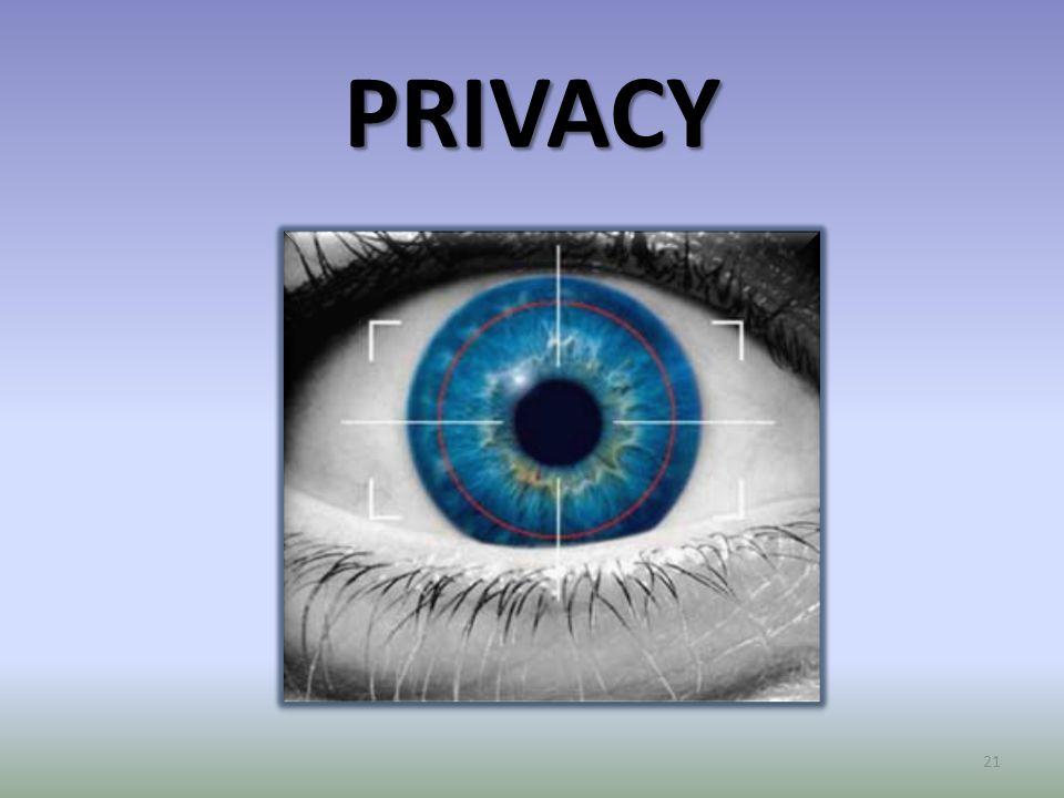 PRIVACY 21