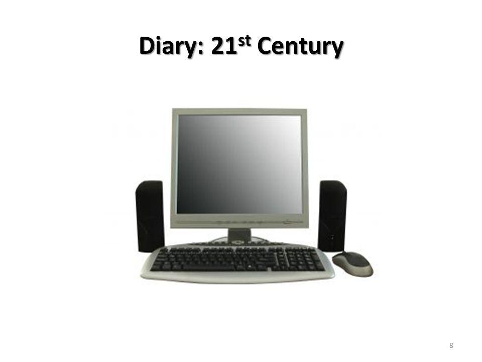 Diary: 21 st Century 8